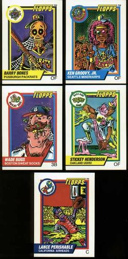 1992 Flopps Promo cards