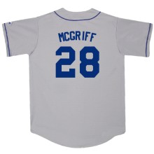 Majestic Athletic Los Angeles Dodgers Customized Replica Road Jersey